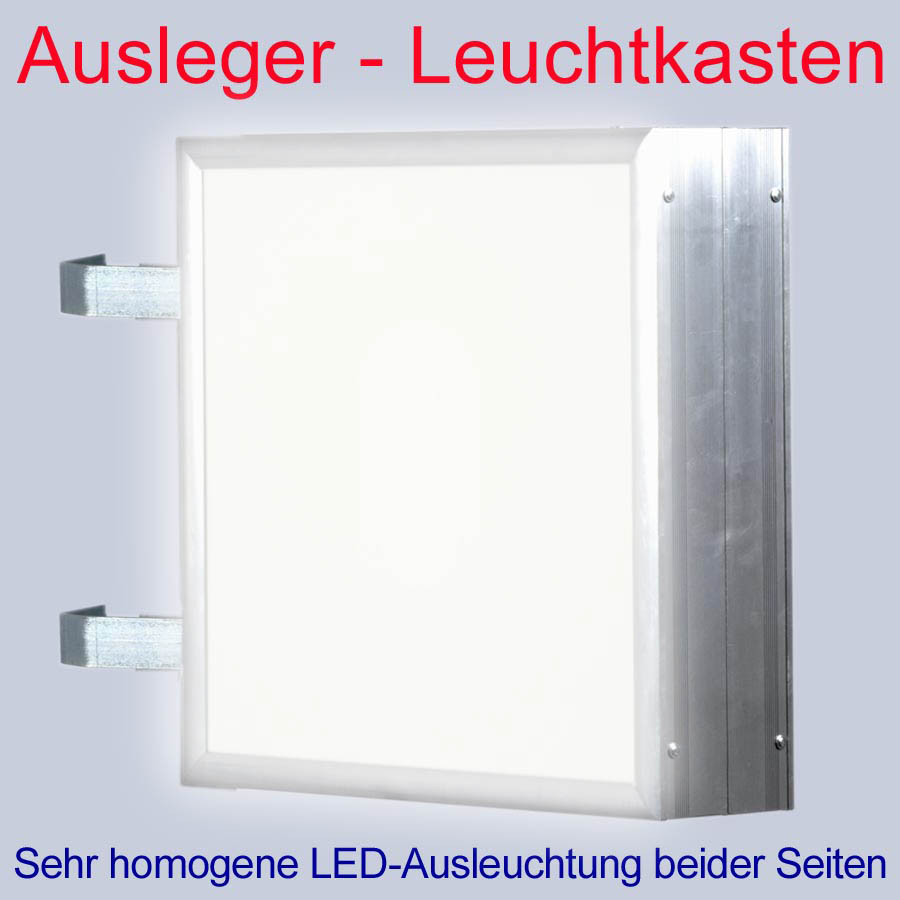 led leuchtkasten 2 seitig beleuchtet 600 x 600 x 138 mm aussteller nasenkasten ebay. Black Bedroom Furniture Sets. Home Design Ideas